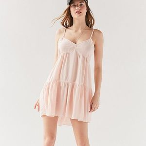 Urban outfitters Harper tiered babydoll dress